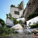 MVRDV proposes 400 meter tall &#039;vertical city&#039; in Jakarta (5) rendering by RSI-Studio