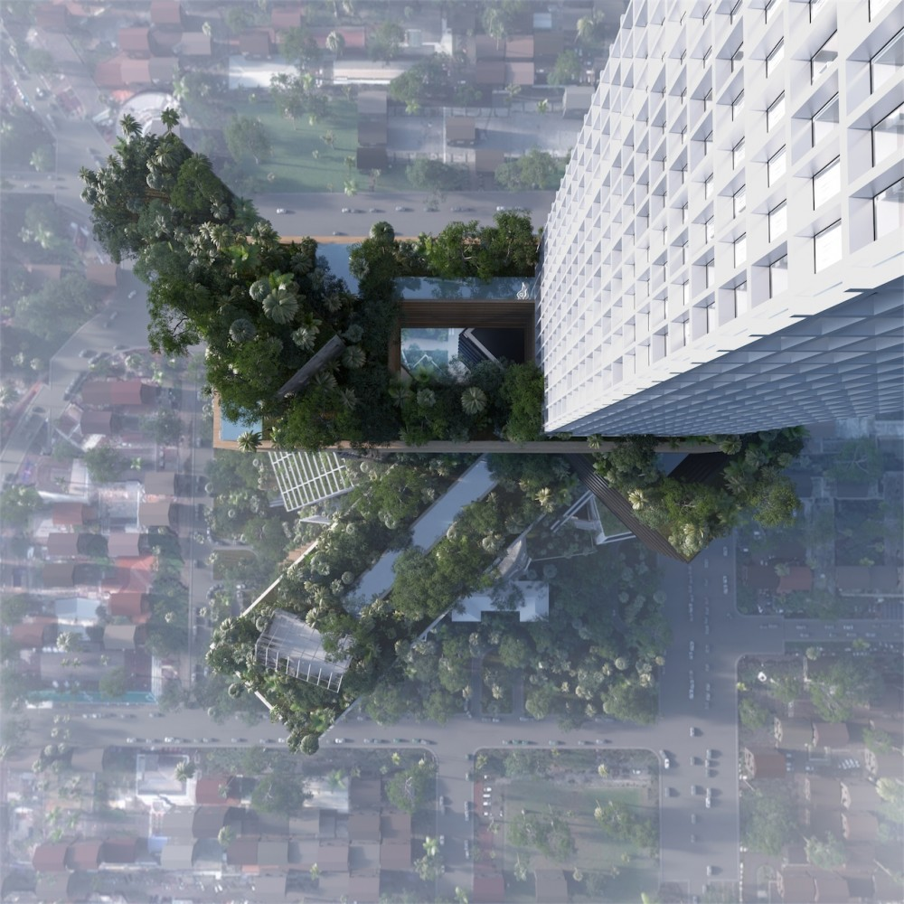 MVRDV proposes 400 meter tall 'vertical city' in Jakarta