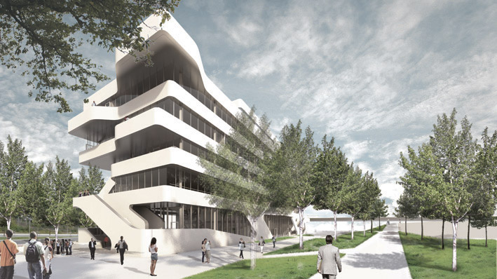 New Institute Building for FOM / J. Mayer H. Architects
