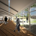 Artist Residence Competition Entry (10) Courtesy of Talmon Biran Architecture Studio