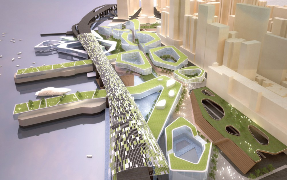 North Point Harbour Urban Planning Concept Winning Proposal / Chris Y. H. Chan + Stephanie M. L. Tan