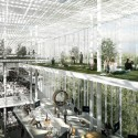 Light Forest: Helsinki Central Library Competition Entry (2) © +imgs