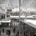 Light Forest: Helsinki Central Library Competition Entry (6) © +imgs