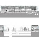 Helsinki Central Library Competition Entry (15) Courtesy of Kubota & Bachmann Architects