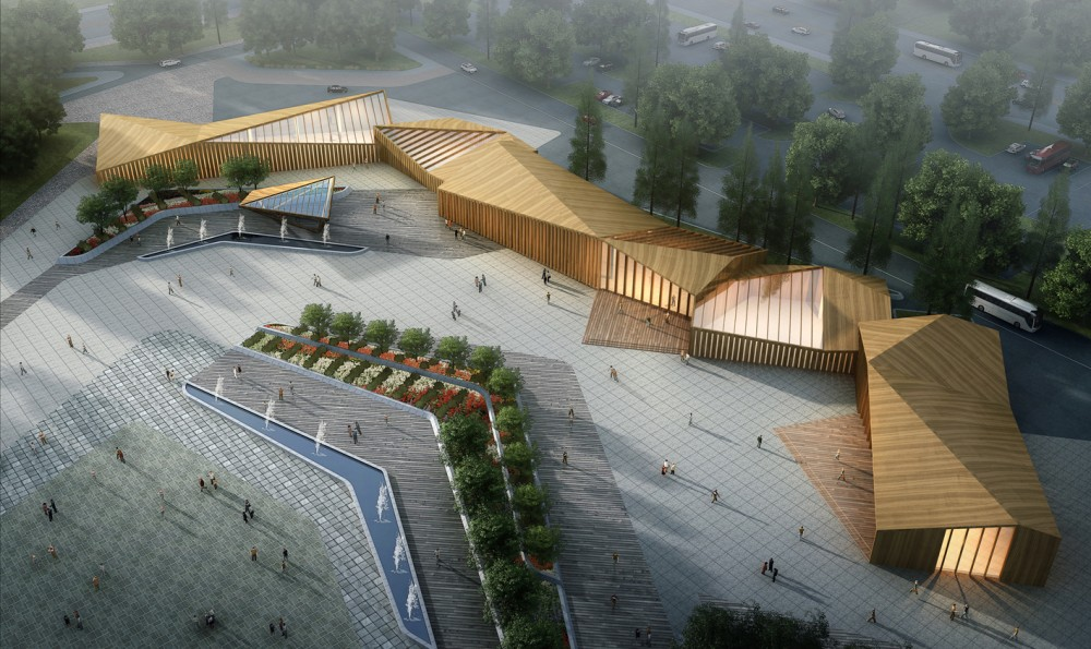 8th China Flower Expo Information Center / Lab Architecture Studio