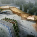 8th China Flower Expo Information Center (1) Courtesy of Lab Architecture Studio