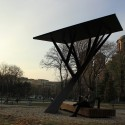 &#039;Black Tree&#039; Public Solar Charger (2)  Milo Milivojevi