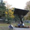 &#039;Black Tree&#039; Public Solar Charger (5)  Milo Milivojevi