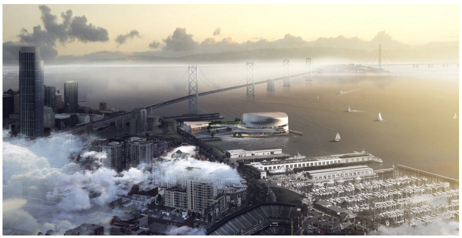 Golden State Warriors Stadium / Snøhetta + AECOM