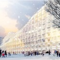 Helsinki Central Library Competition Entry (2) © Labtop