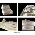 Helsinki Central Library Competition Entry (6) study models
