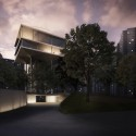 Swiss Embassy Competition Entry (1) Courtesy of Personeni Raffaele Schrer Architects