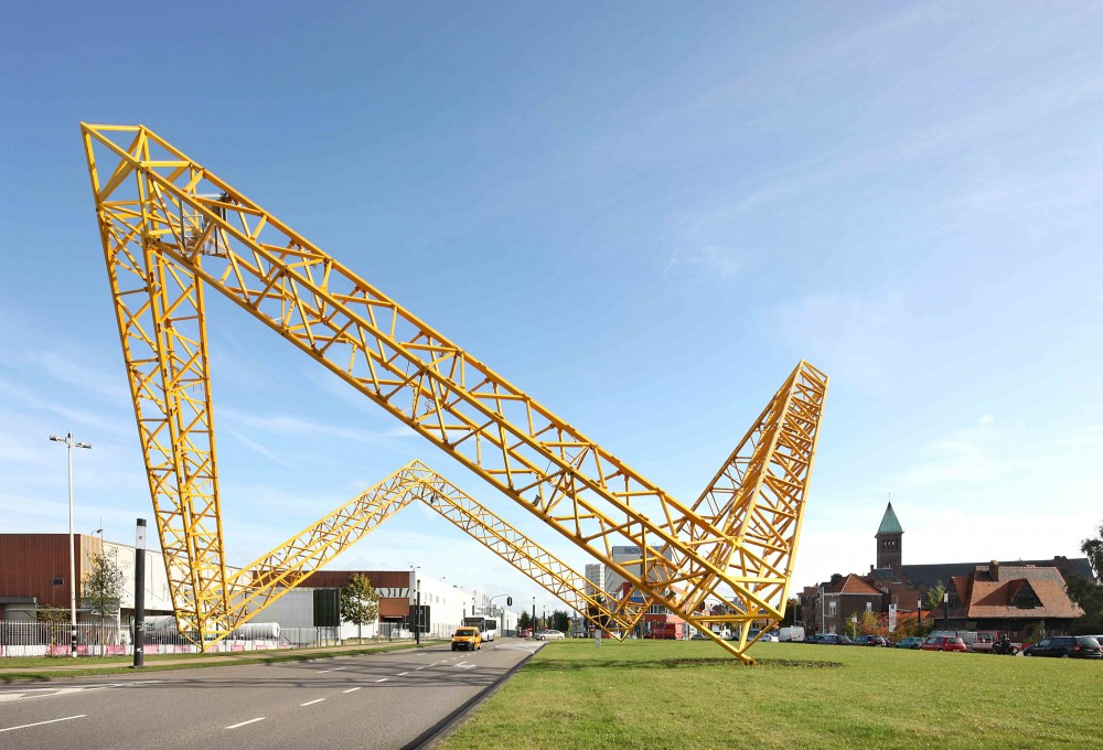 Framework Sculpture / Gijs Van Vaerenbergh