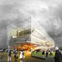Helsinki Central Library Competition Entry (2) Courtesy of STL Architects