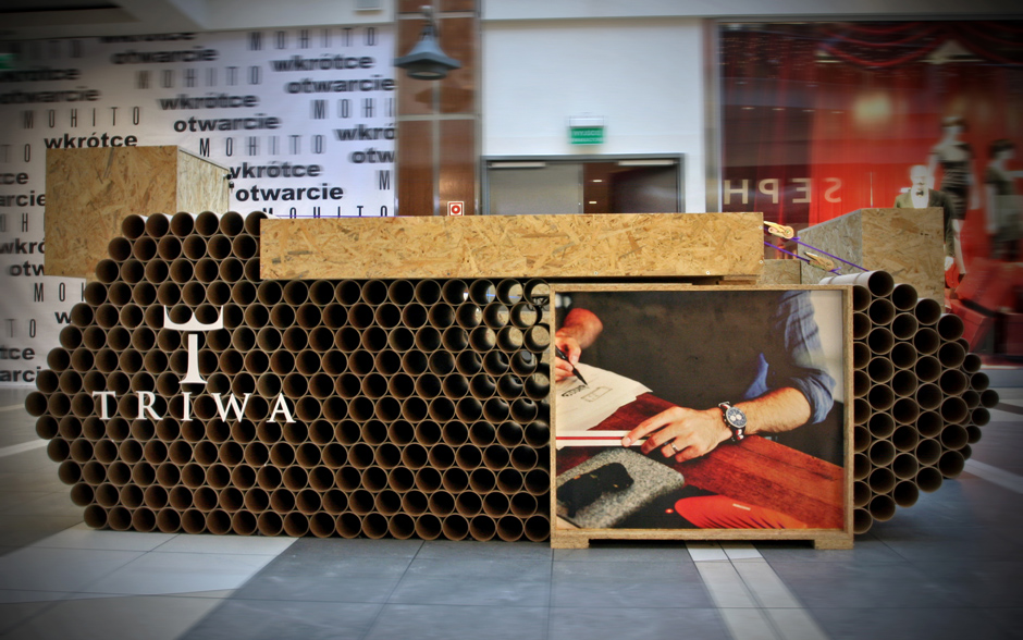 Tube Tank  TRIWA Pop-Up Store / mode:lina architekci