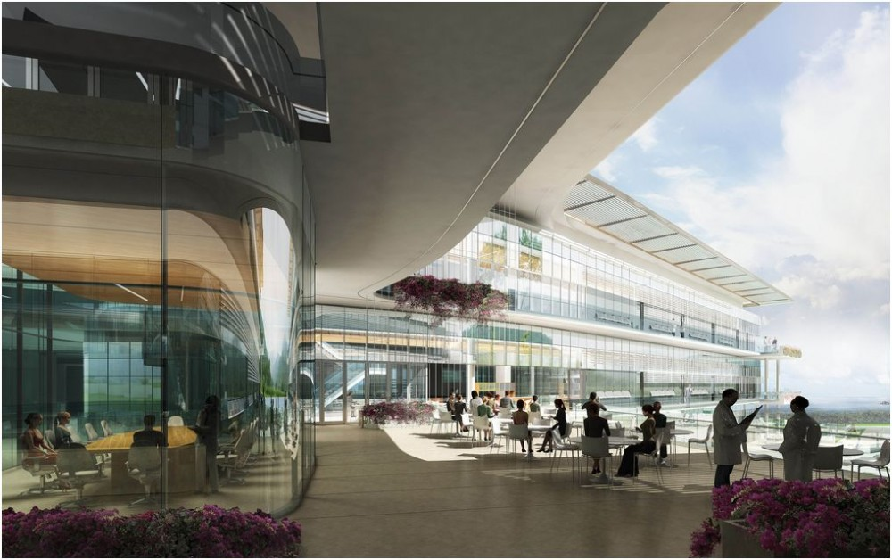 New Global Hub for Biomedical Research / HOK