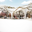 Sustainable Market Square Competition Entry (1) Courtesy of Nikolova/Aarsø (N/A)