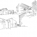 Dwellings in Spotorno / Ariu + Vallino Architects Sketch