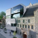 Canadian Museum in a Church / Provencher Roy + Associés Architectes © Marc Cramer