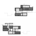 Duplex House / L3P Architects Section