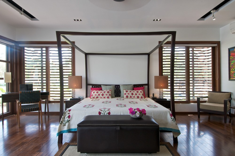 Architecture photography the courtyard house hiren - Maison courtyard hiren patel architects ...