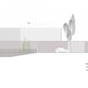 Retén De Policía Local Y Espacio Polivalente En Xixona / Daniel Martí Arquitectos Elevation