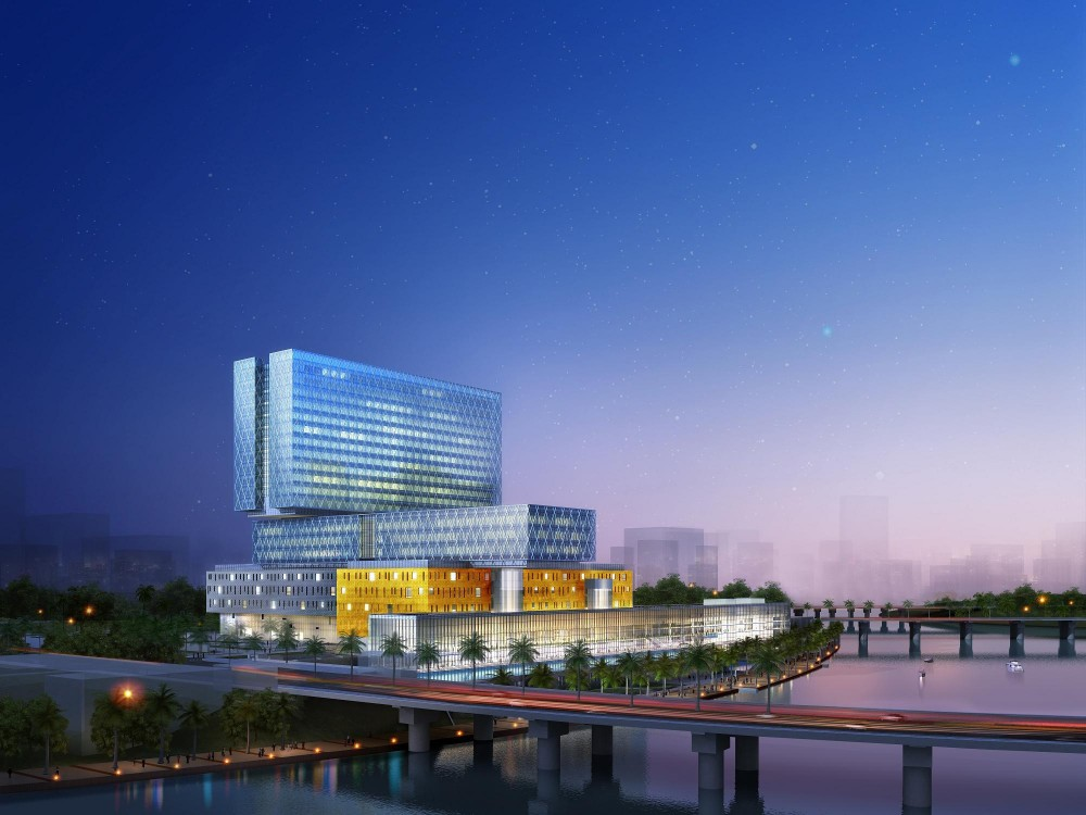 In Progress: Cleveland Clinic Abu Dhabi / HDR Architecture