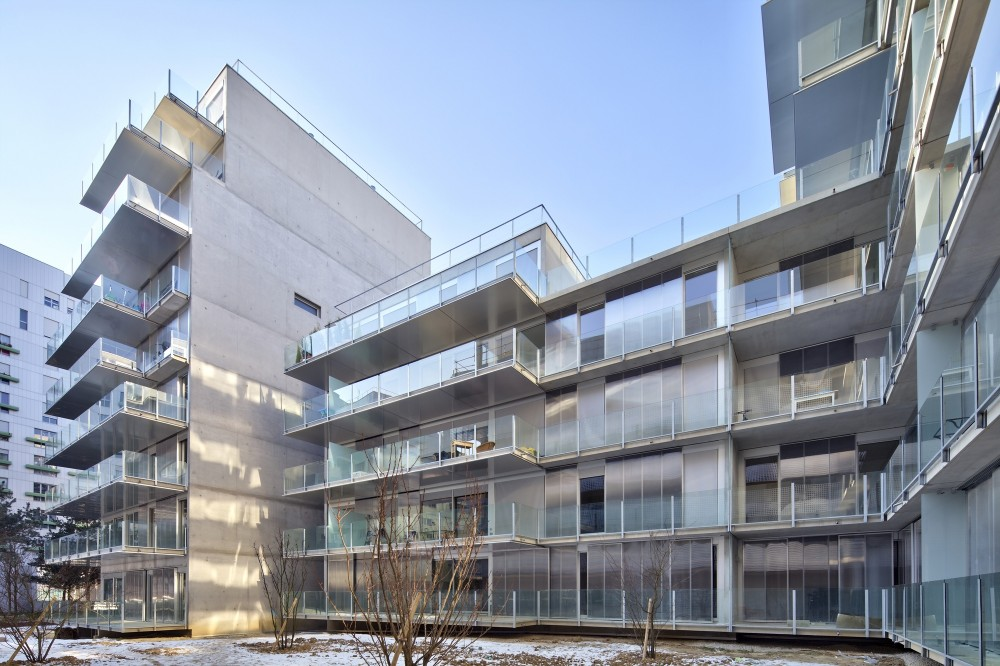 73 Apartments ZAC Seguin Rives de Seine – Lot B3B / Philippe Dubus Architectes