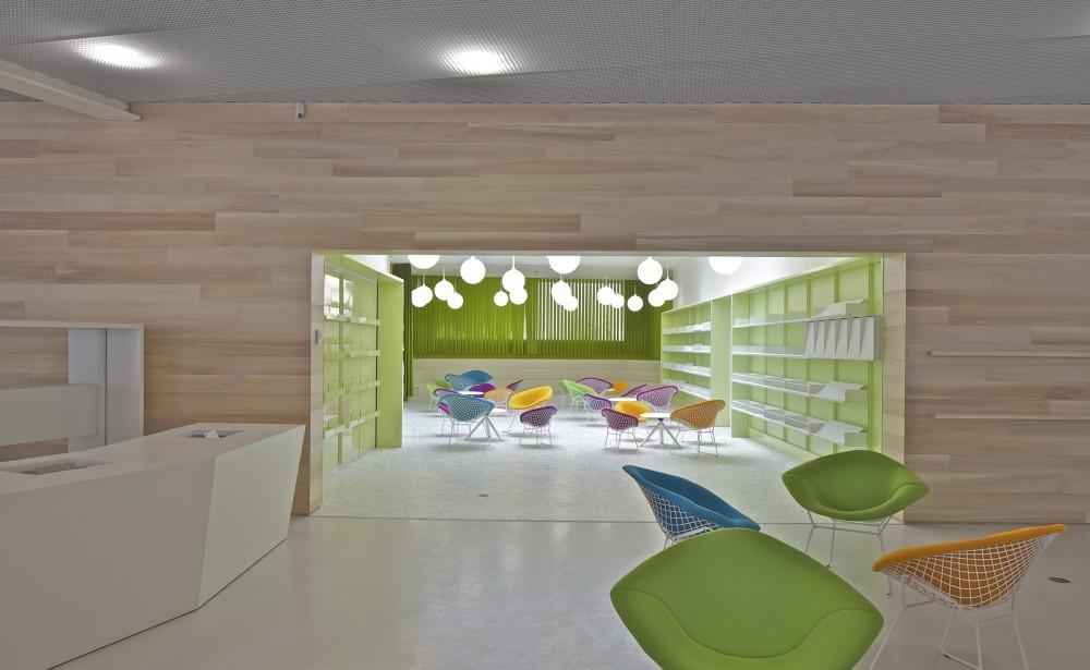 architecture photography lons le saunier mediatheque du besset lyon architectes 292828. Black Bedroom Furniture Sets. Home Design Ideas