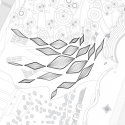 Visitor Center / HHD_FUN Architects Site Plan