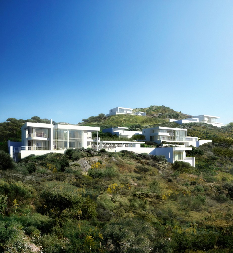 Bodrum Houses / Richard Meier & Partners Architects