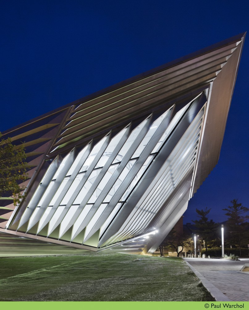 Eli &#038; Edythe Broad Art Museum / Zaha Hadid Architects