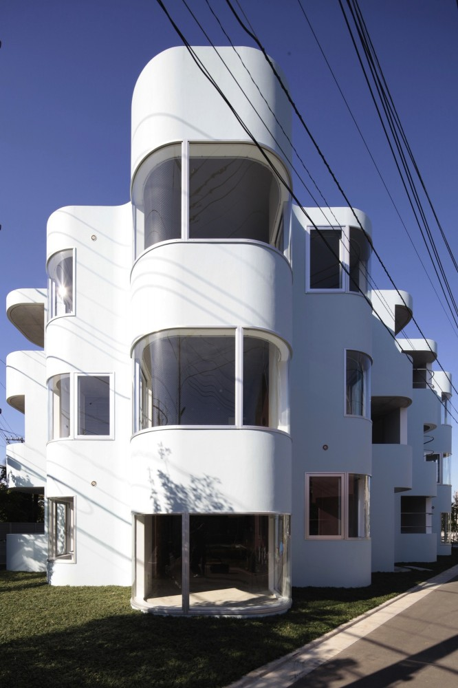 Higashifuchuu Apartments / Mejiro Studio