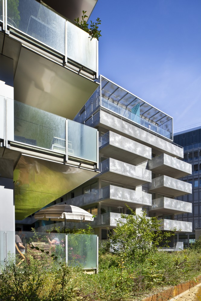 54 logements ZAC Seguin Rives de Seine / PHD Architectes