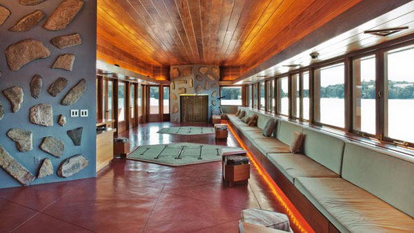Controversial Frank Lloyd Wright-Designed Island For Sale