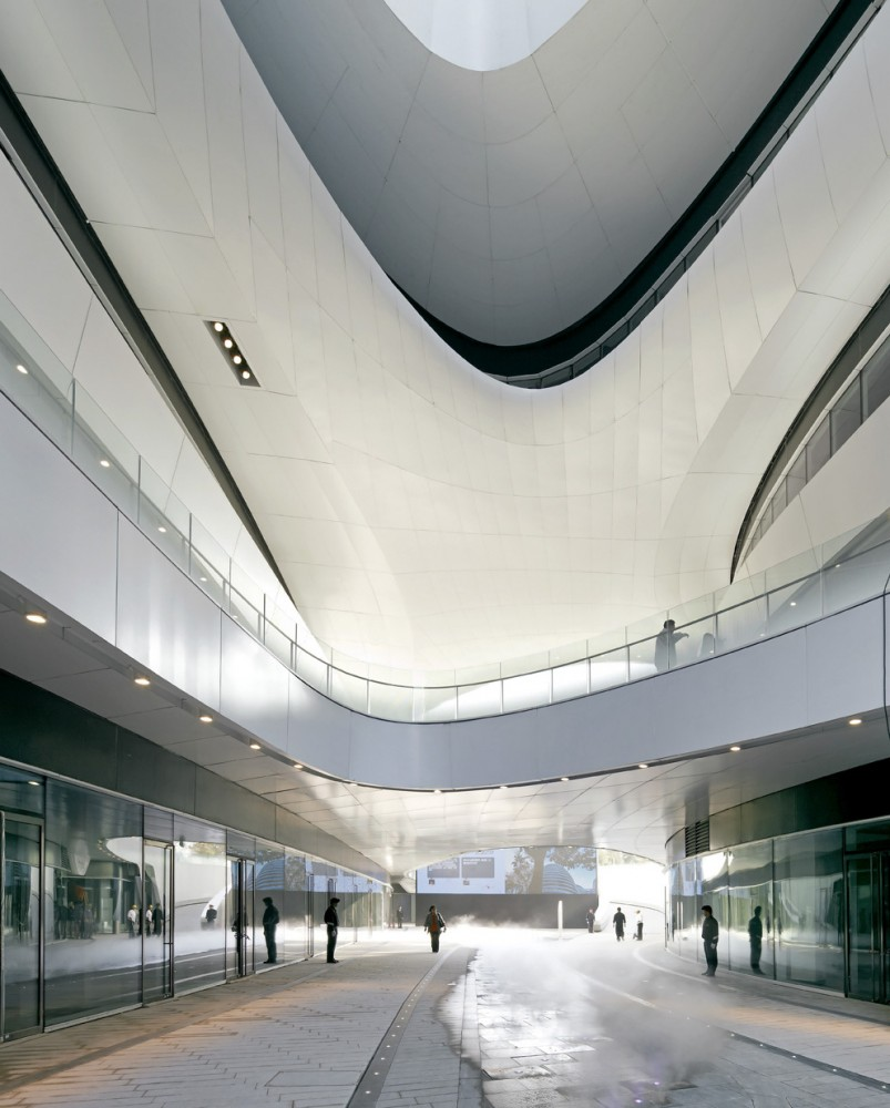 Galaxy Soho / Zaha Hadid Architects, by Hufton + Crow
