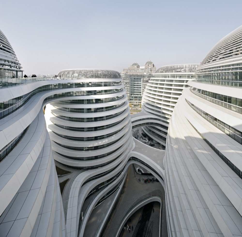 Architecture photography galaxy soho zaha hadid for Architecture zaha hadid