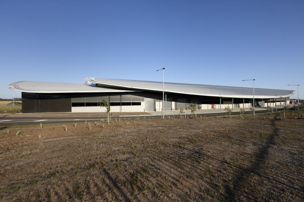 Craigieburn Train Maintenance Facility / HBO+EMTB