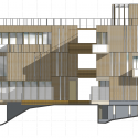 Innhouse Eco Hotel / Oval Partnership elevation
