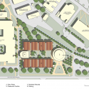 E.J. Ourso College of Business / ikon.5 architects site plan