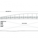 Compiegne Bridge / Explorations Architecture Elevation