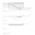 Almazan Main Square / ch+qs arquitectos Stairs Floor Plan and Elevation