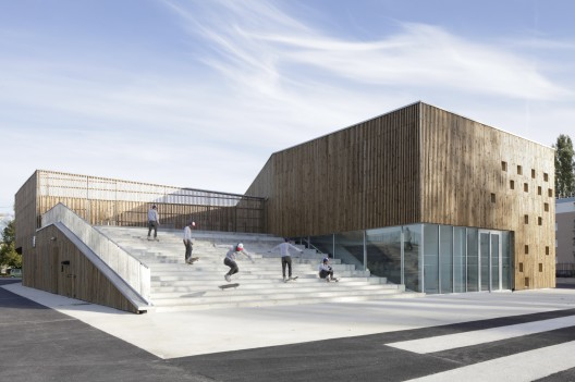 Cultural Center in Nevers / Ateliers O-S architectes © Cecile Septet
