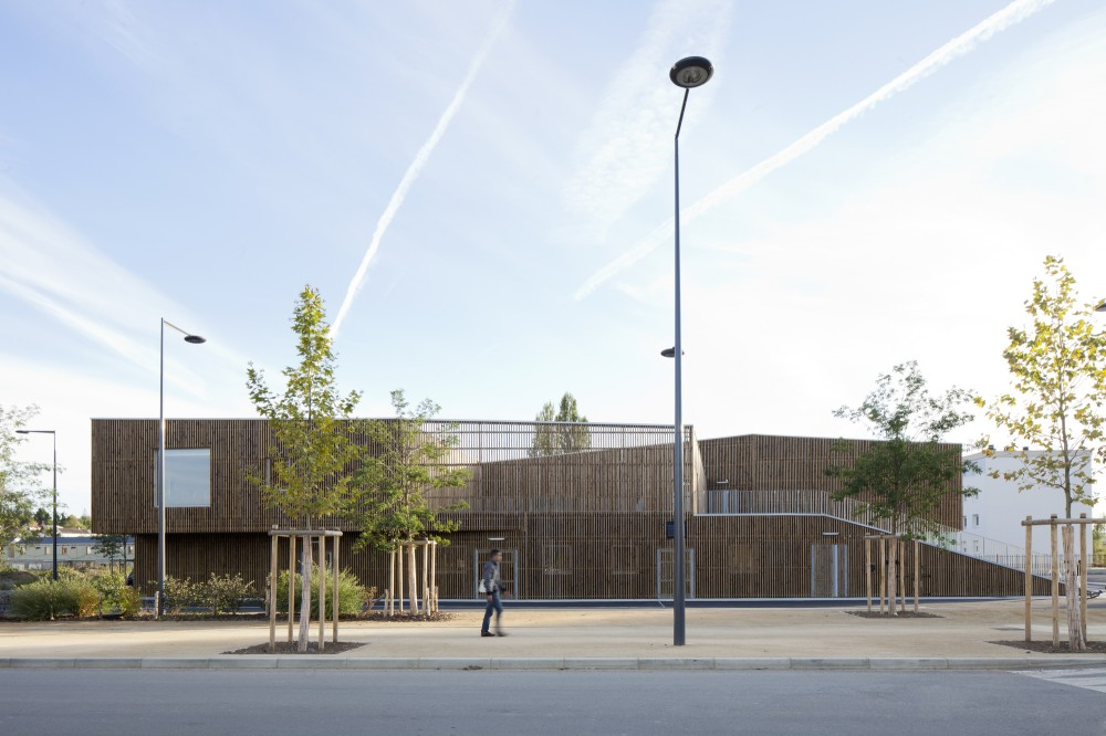 Cultural Center in Nevers / Ateliers O-S architectes