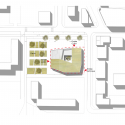 Cultural Center in Nevers / Ateliers O-S architectes Site Plan