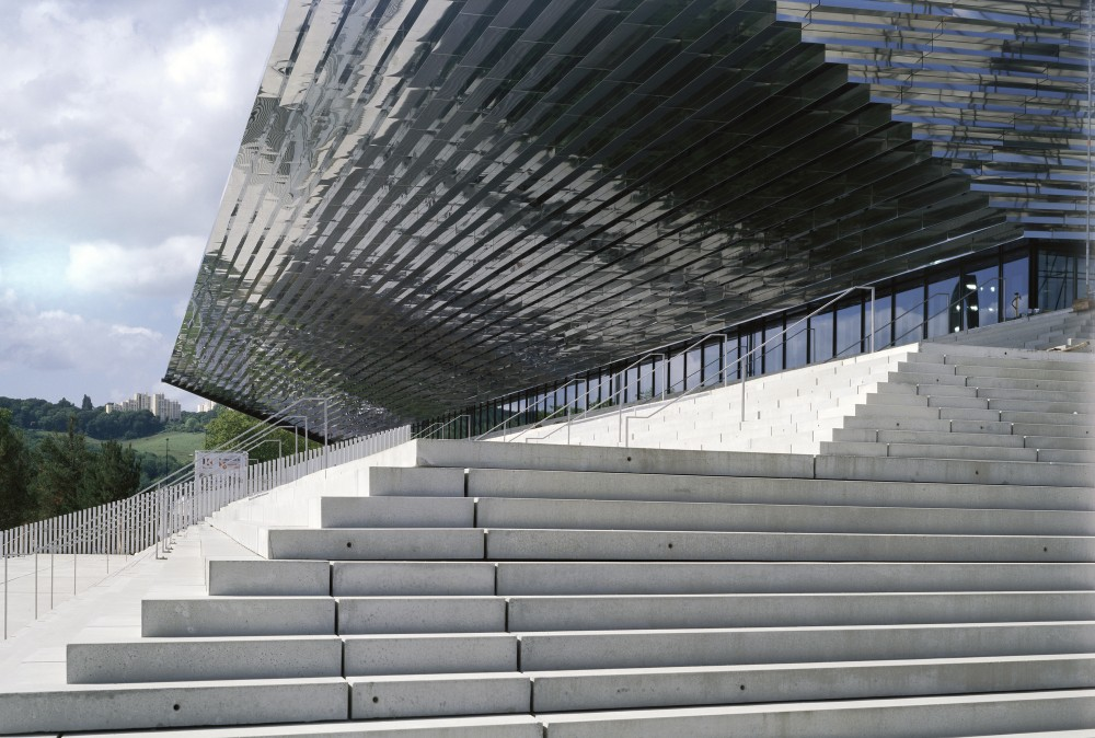 Palais des Sports de Rouen / Dominique Perrault Architecture