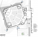 The Church of St. Aloysius / Erdy McHenry Architecture Plan