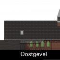 God's Loftstory / Leijh Kappelhoff Seckel van den Dobbelsteen architecten East Elevation