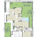 Bucktown Three AD Submission / Studio Dwell Architects First Floor Plan