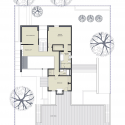 Bucktown Three AD Submission / Studio Dwell Architects Second Floor Plan
